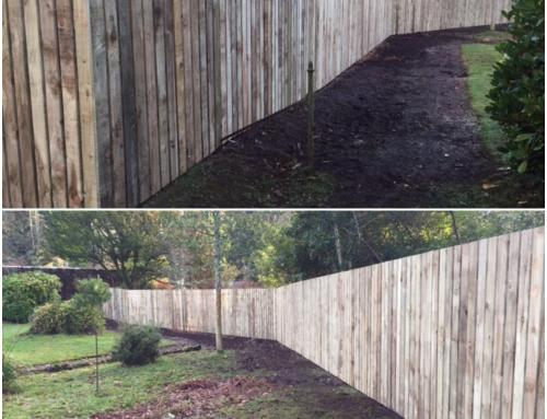Fencing Work in Skelmorlie