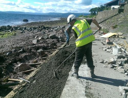 Reinstating Pathway in Largs