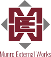 Munro External Works Logo